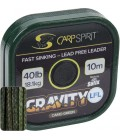 CARP SPIRIT LEAD CORE  GRAVITY LFL Camo green   лидер   камуфлажен зелен  без оловна сърцевина  Шарански принадлежности